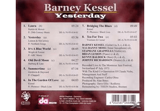 Barney Kessel - Yesterday-24bit - (CD)