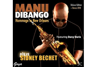 - Manu Dibango plays Sidney Bechet - (CD)