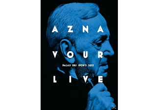 Charles Aznavour - Aznavour Live-Palais Des Sports 2015 | DVD + Video Album