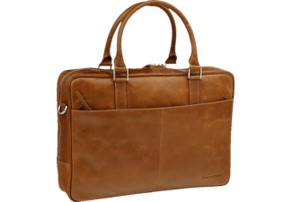 DBRAMANTE 1928 Briefcase Business Rosenberg Golden Tan, Notebook Sleeve, 16 Zoll, Universal, Braun
