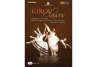 VARIOUS, Orchestra Of The Mariinsky Theatre - The Kirov Classics [DVD + CD]