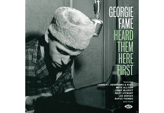 VARIOUS - Georgie Fame Heard Them Here First - (CD)