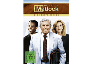 Matlock – Season 5 - (DVD)