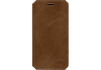 CAT Active Signature Leather, Bookcover, iPhone 6 Plus, iPhone 6s Plus, Echtleder, Braun