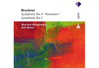 "New York Philharmonic - Symphony Nr.4 ""romantic"" / Symphony Nr.7 [CD]"