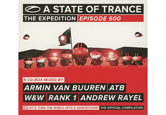 VARIOUS - A State Of Trance 600 [CD]