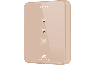 WHITE DIAMONDS Crystal Powerbank S - Guld