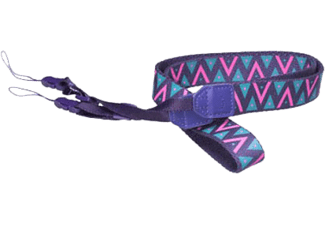 FUJIFILM Instax Neck Strap - Lila/Triangles
