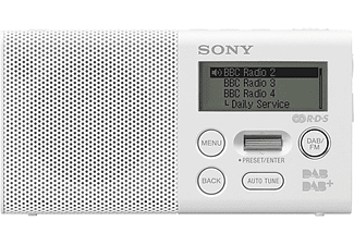 SONY XDR-P1DBP Wit