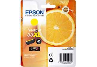 EPSON Original Tintenpatrone Orange Gelb (C13T33644010)