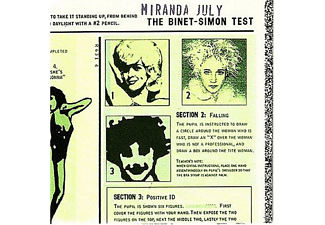 Miranda July - The Binet Simon Test - (CD)