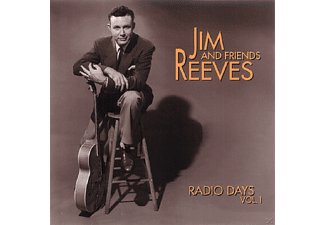 Jim Reeves - Vol.1, Radio Days   4-Cd & Boo - (CD)