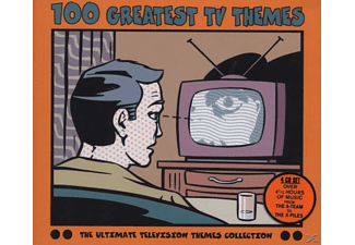 VARIOUS, OST/TV-Soundtracks - 100 Greatest Tv Themes - (CD)