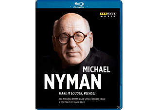 Nyman Michael Band - Make It Louder, Please! [Blu-ray]