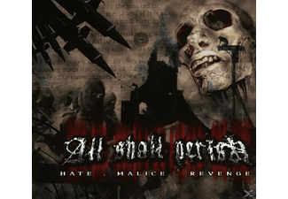 All Shall Perish - Hate, Malice, Revenge - (CD)