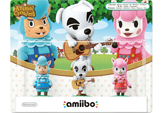 AMIIBO Animal Crossing: 3-pack