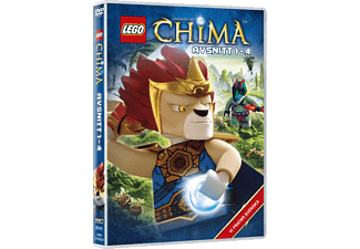 Lego: Legends of Chima - Avsnitt 1-4 Barn DVD