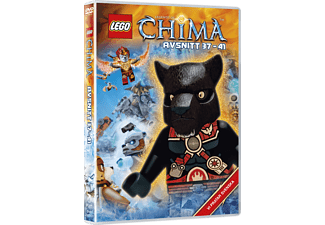 Lego: Legends of Chima - Avsnitt 37-41 Barn DVD