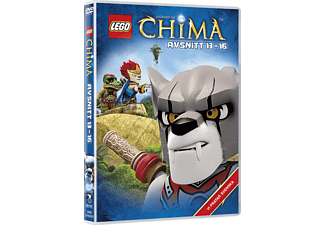 Lego: Legends of Chima - Avsnitt 13-16 Barn DVD