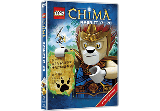 Lego: Legends of Chima - Avsnitt 17-20 Barn DVD