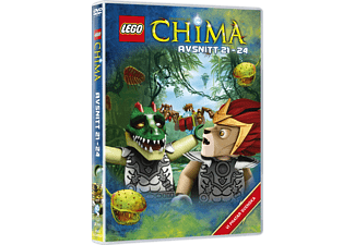 Lego: Legends of Chima - Avsnitt 21-24 Barn DVD
