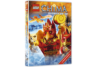 Lego: Legends of Chima - Avsnitt 29-32 Barn DVD