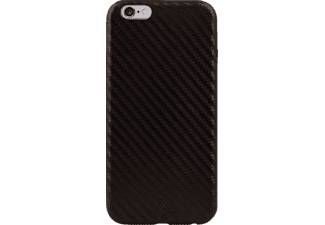 BLACK ROCK Flex-Carbon, Apple, Backcover, iPhone 6 Plus, iPhone 6s Plus, Kunststoff/Mikrofaser/Polycarbonat (PC), Braun