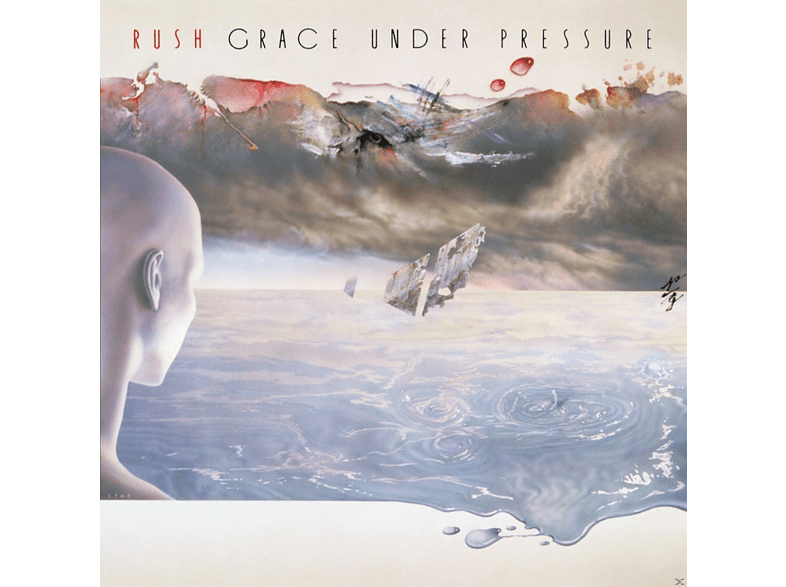Rush - Grace Under Pressure [Βινύλιο] μουσική  ταινίες  βιβλία μουσική βινύλια τηλεόραση   ψυχαγωγία μουσική