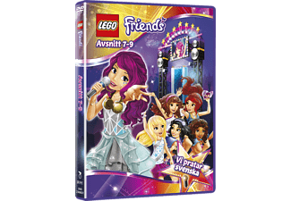 Lego Friends - Avsnitt 7-9 Barn DVD