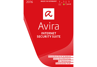 Avira Internet Security Suite 2016 - 1 Gerät / 1 Jahr (DVD Special)