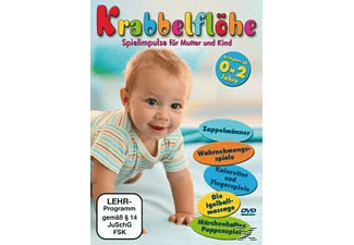 Krabbelflöhe-Spielimpulse Für Mutter + Kind - (DVD)