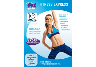 Fit For Fun - 10 Minute Solution - Fitness Express - (DVD)
