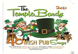 The Temple Bards - 40 Irish Pub Songs - (CD)