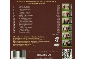 Ensemble Faenza - Madrigali E Sonate - (CD)