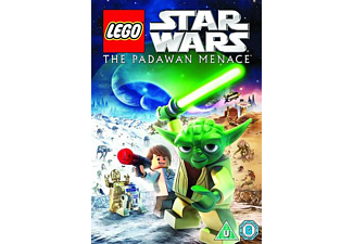 Lego Star Wars - The Padawan Menace Barn DVD