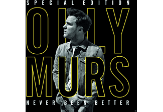 Olly Murs Never Been Better CD
