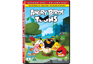 Angry Birds Toons: Säsong 1 - Volym 1 DVD