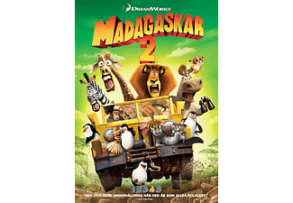 Madagaskar 2 Animation / Tecknat DVD