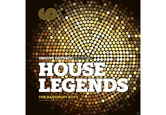 VARIOUS - Groove Odyssey Pres House Legends [CD]
