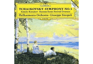 The Philharmonia Orchestra - Tschaikowsky: Sinfonie 5 - (CD)
