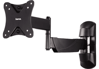 "HAMA FULLMOTION TV Wall Bracket, 1 star, XS, 66 cm (26""), 2 arms, black - (118662)"