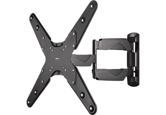"HAMA FULLMOTION TV Wall Bracket, 1 star, XL, 142 cm (56""), 2 arms, black - (118667)"