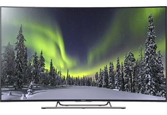 "SONY KD55S8005CBAEP 55"" Smart Curved 4K Ultra HD -TV 100 Hz - Silver"