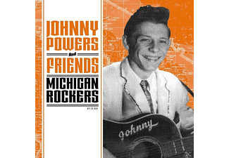 Various - JOHNNY POWERS AND FRIENDS-MICHIGAN ROCKERS - (Vinyl)