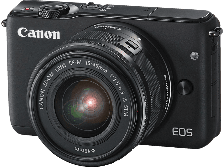 CANON EOS M10 Black 15-45mm photo   video   offline φωτογραφικές μηχανές mirrorless cameras hobby   φωτογραφ