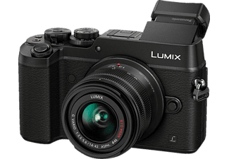 PANASONIC Lumix DMC-GX8 Black + Kit φακού 14-42mm f/3.5-5.6 OIS - (DMC-GX8KEG-K)