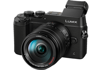 PANASONIC Lumix DMC-GX8 Black + Φακός 14-140mm f/3.5-5.6 ASPH - (DMC-GX8HEG-K)