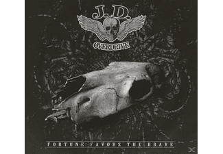 J. D. Overdrive - Fortune Favors The Brave - (CD)