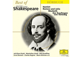 Best Of William Shakespeare - 1 CD - Hörbuch