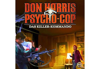 Psycho Cop, Don Harris - Psycho Cop - 05: Das Killer-Kommando - (CD)
